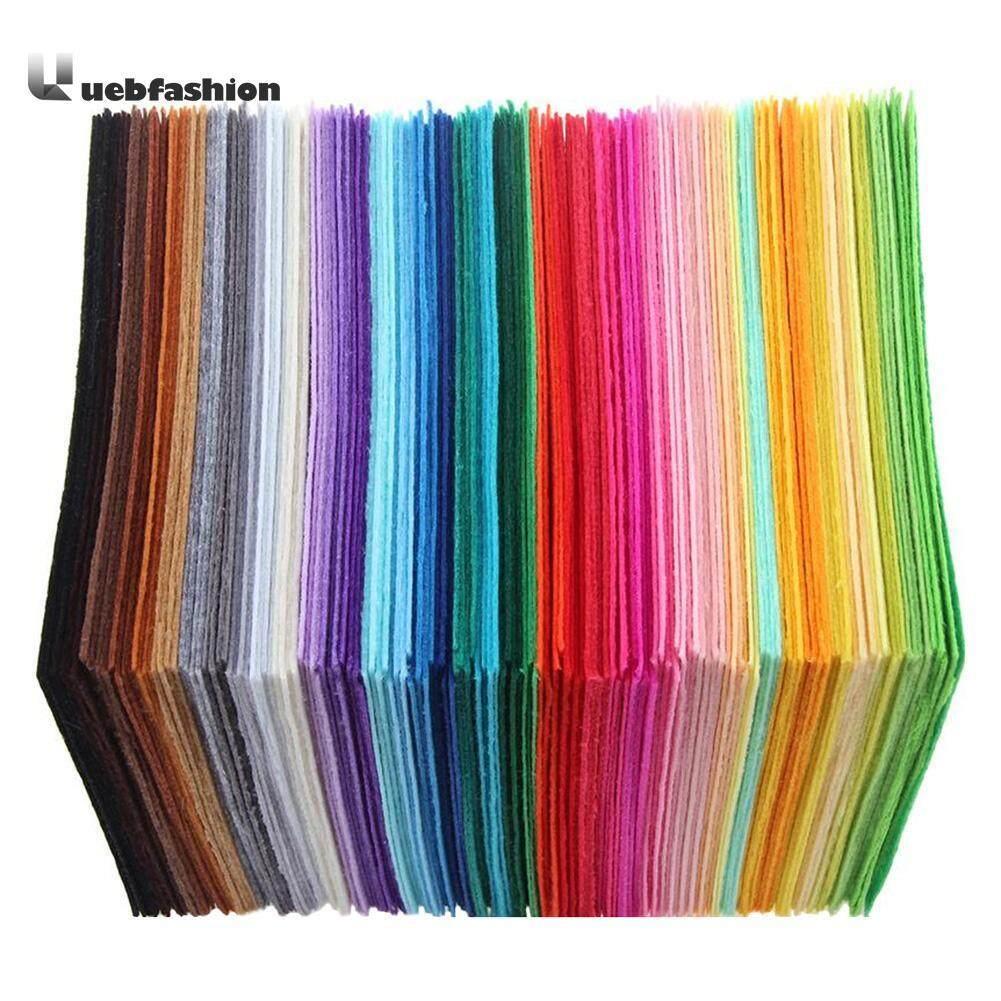 40 cái Nhiều màu Thủ Công Không dệt Vải Nỉ Polyester Vải DIY May-quốc tế