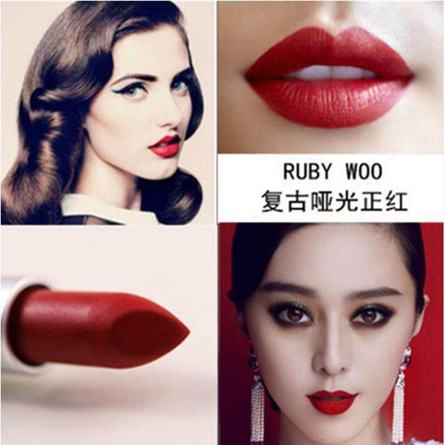 MAC charm can be matte lipstick does not fade waterproof long-lasting lipstick bite lip