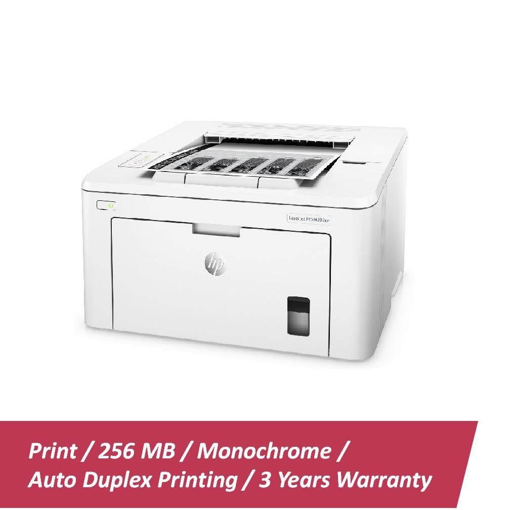 HP Mono LaserJet Pro M203dn Printer - (G3Q46A)
