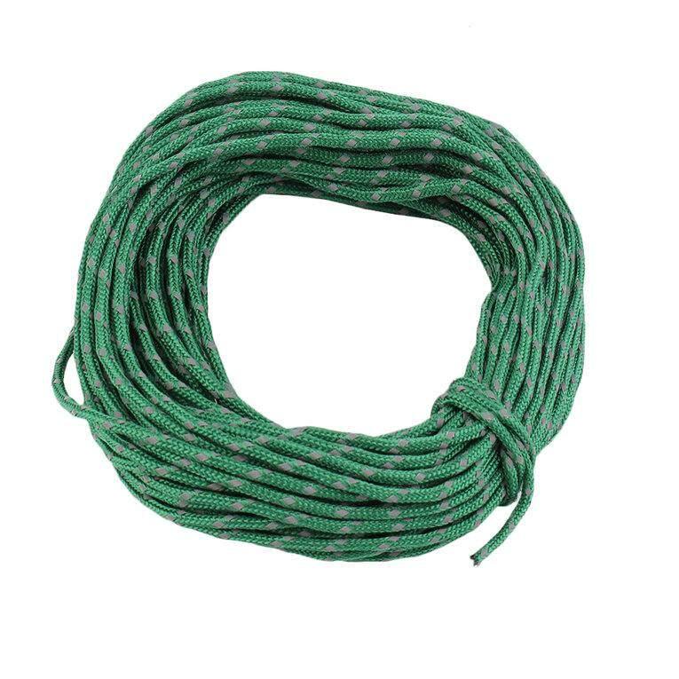 Tent angin tali multifungsi berani tenda tetap tali reflektif jemuran hijau gelap