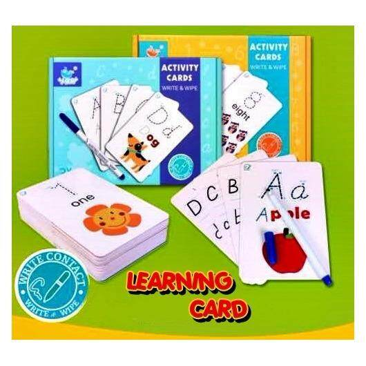 Learning Card - Kids Learning Flash Cards (123)