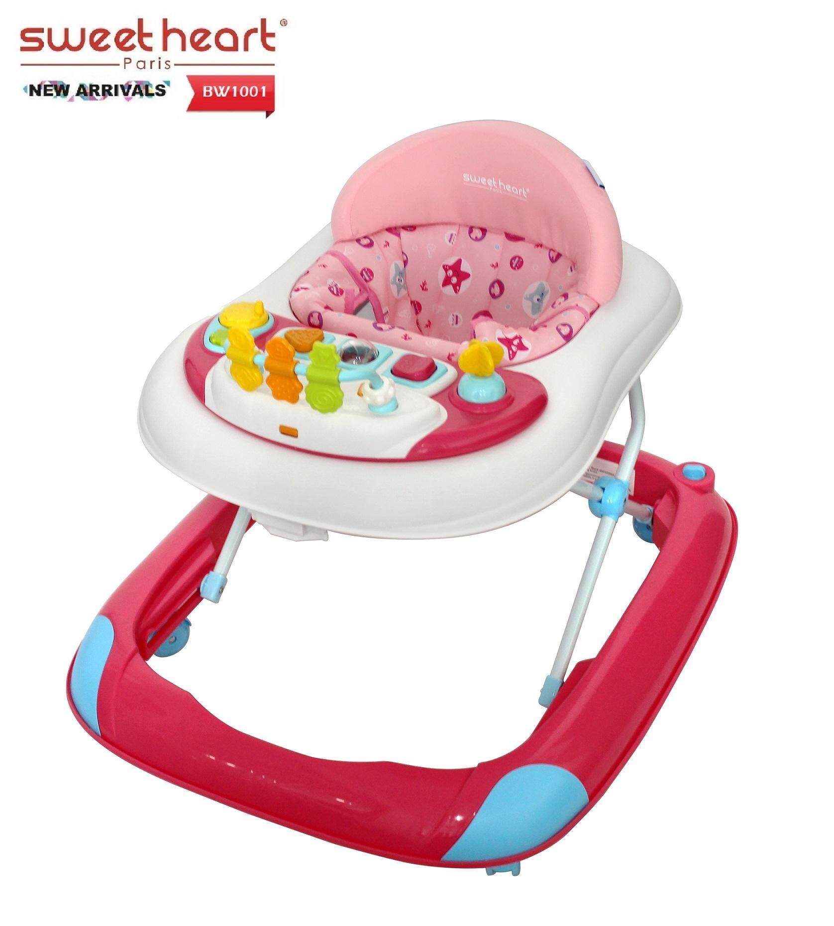 Sweet Heart Paris Baby Walker BW1001 Pink