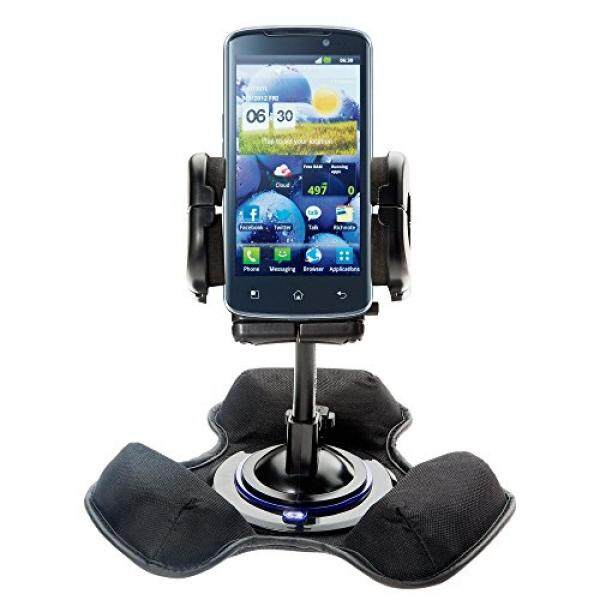 Dual Mounting Kit Designed for LG Optimus True HD Features Universal Dashboard Mount and Flexible Windshield Suction Mounts. Fits Any Car / Truck - intl