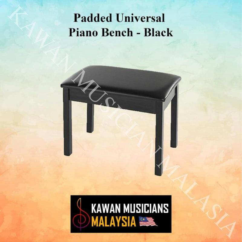 Kawan Musicians Padded Universal Piano Bench - Black Malaysia