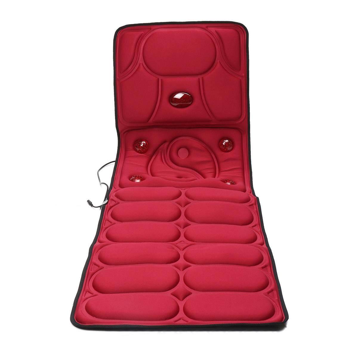 Pad Cushion Mat Comfy Home Car Chair Multi-Function Vibration Massage Mattress