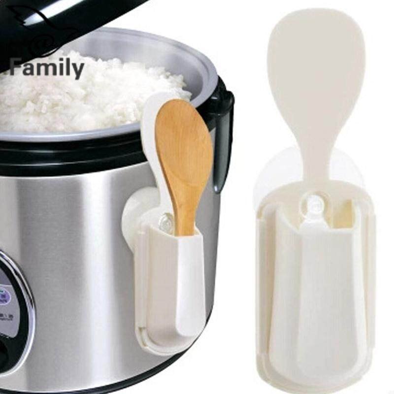 Big Family Portable Rice Cooker Spoon Holder Sucker Style Convenient Durable Seat
