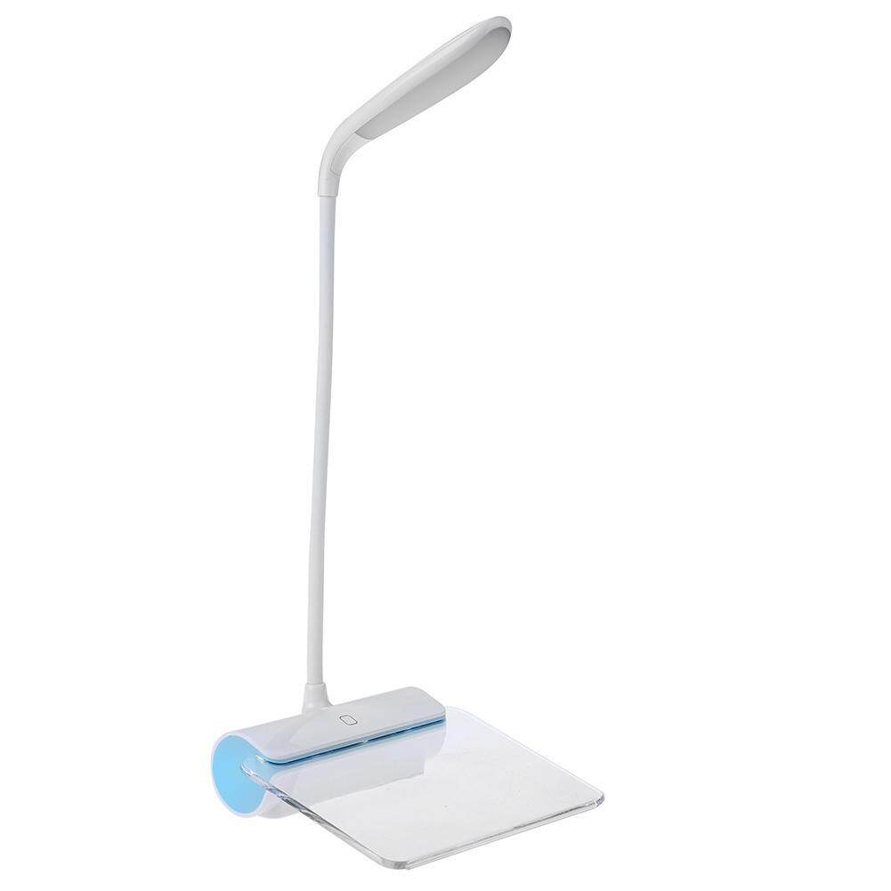 LED USB Rechargeable Desk Lamp with Message Board Eye Care Book Lamp