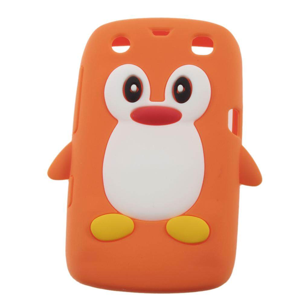 GOOD 3D Penguin Shape Silicone case cover for Blackberry 9360 /9350 /9370/Curve PT169 - intl