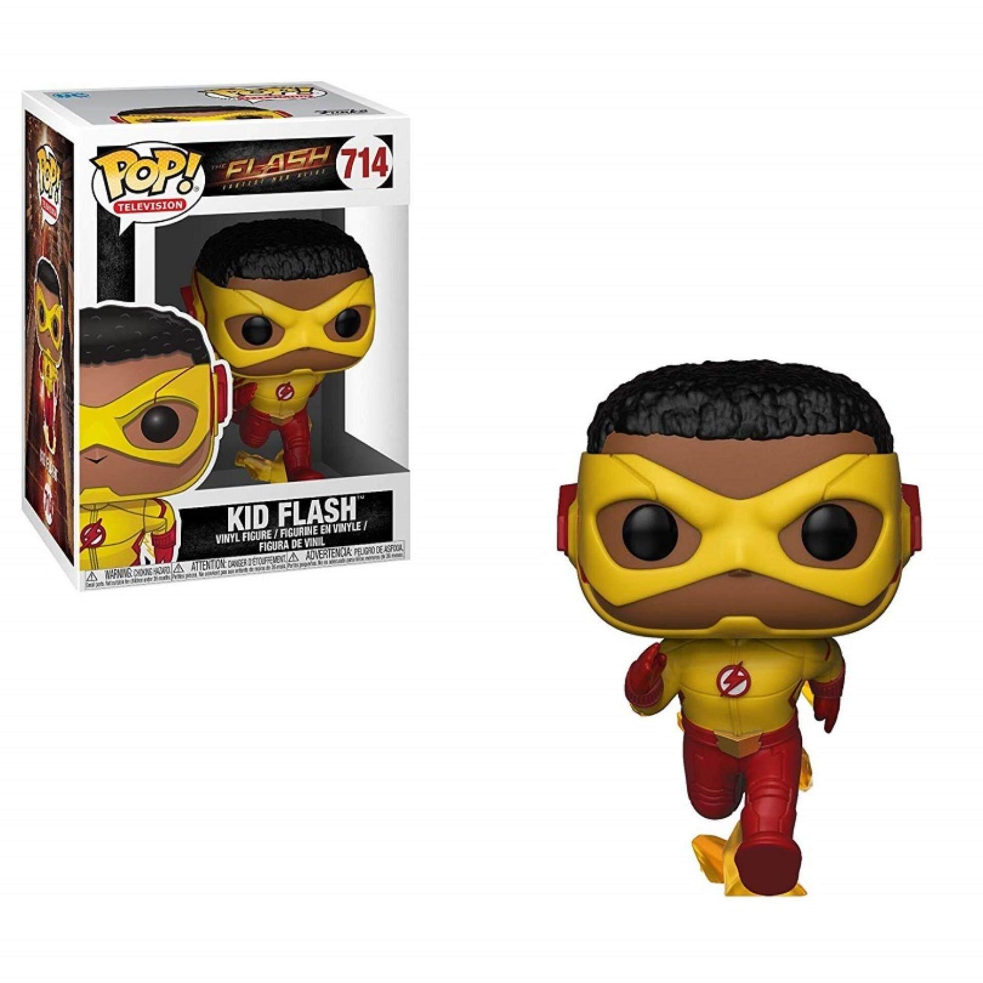 FUNKO POP! TV Series DC Comics The Flash - Kid Flash Toys for boys