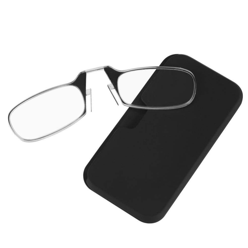 Unisex Ultra Thin Light 1.0-3.0 Big Nose Clip Reading Presbyopic Glasses Mini Size 2.0 - Intl By Rongshida.