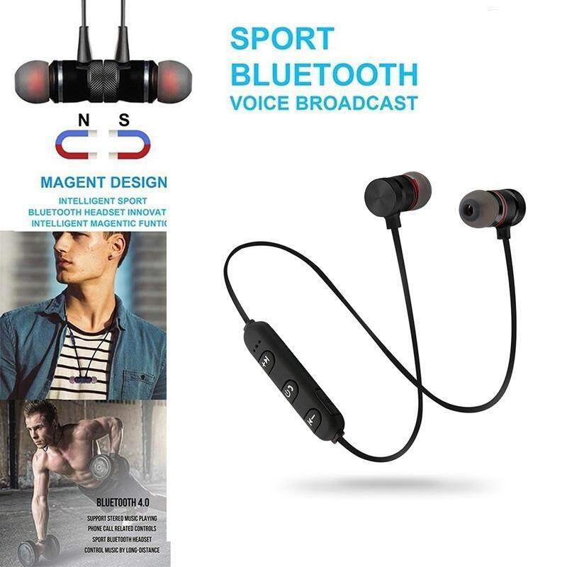 Ojor Headset Nirkabel Built-In Micphone Kontrol Volume Tahan Keringat DJ Olahraga Gym Headphone Bluetooth