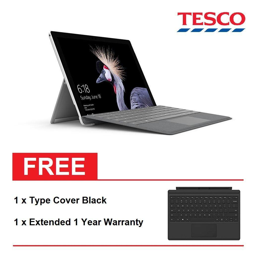Microsoft Surface Pro Core i5 / 4GB / 128GB + Surface Pro Type Cover Black + Shield Care 1 Year Extended Warranty Malaysia
