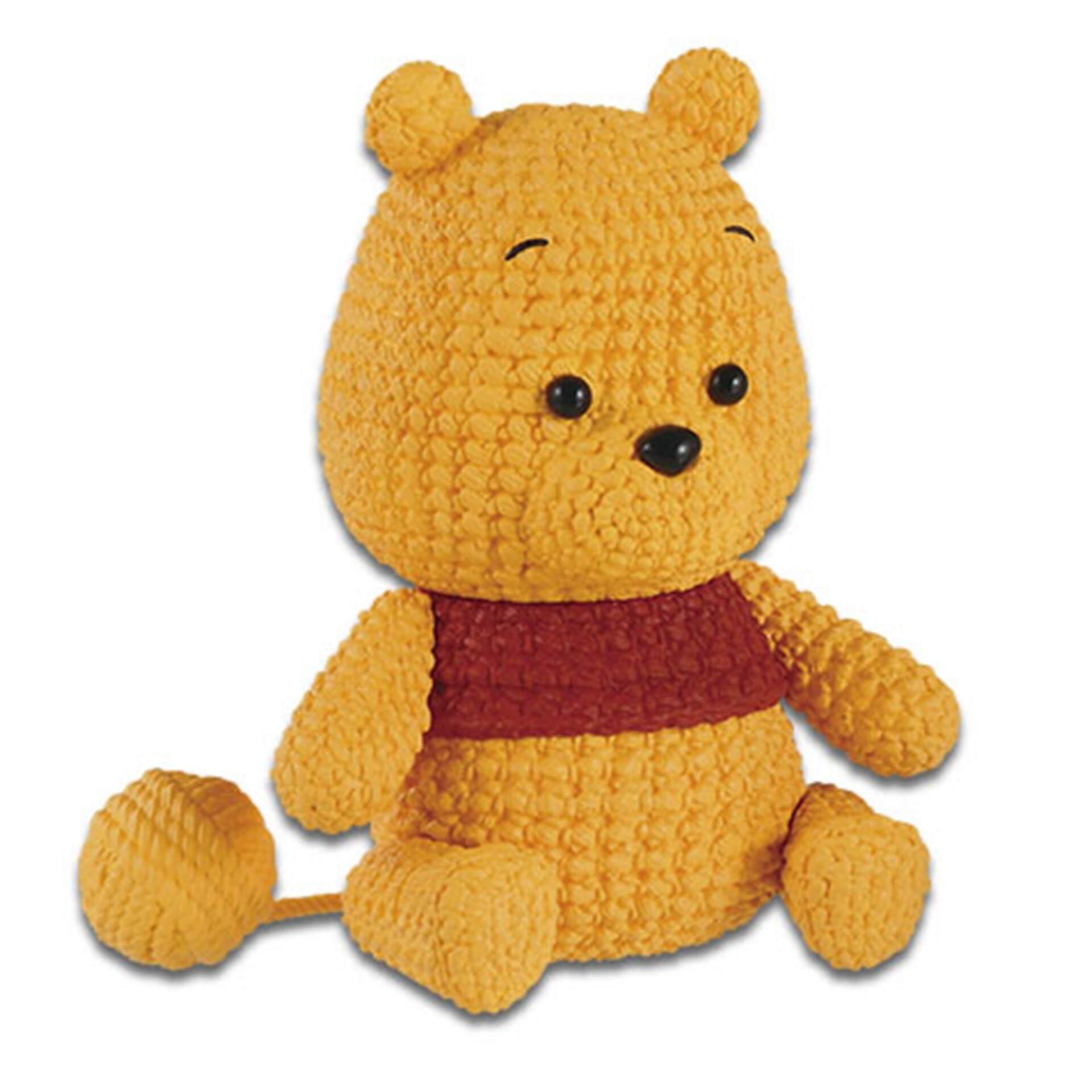 Banpresto Amimcot Disney Winnie The Pooh Figure - Dark Colour Toys for boys