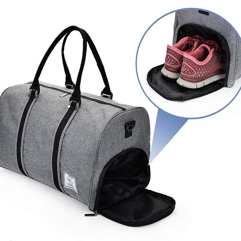 2018 Canvas Men Sport Bag Duffles Gym Bags With Shoes Space - Intl By Da Ming Store.