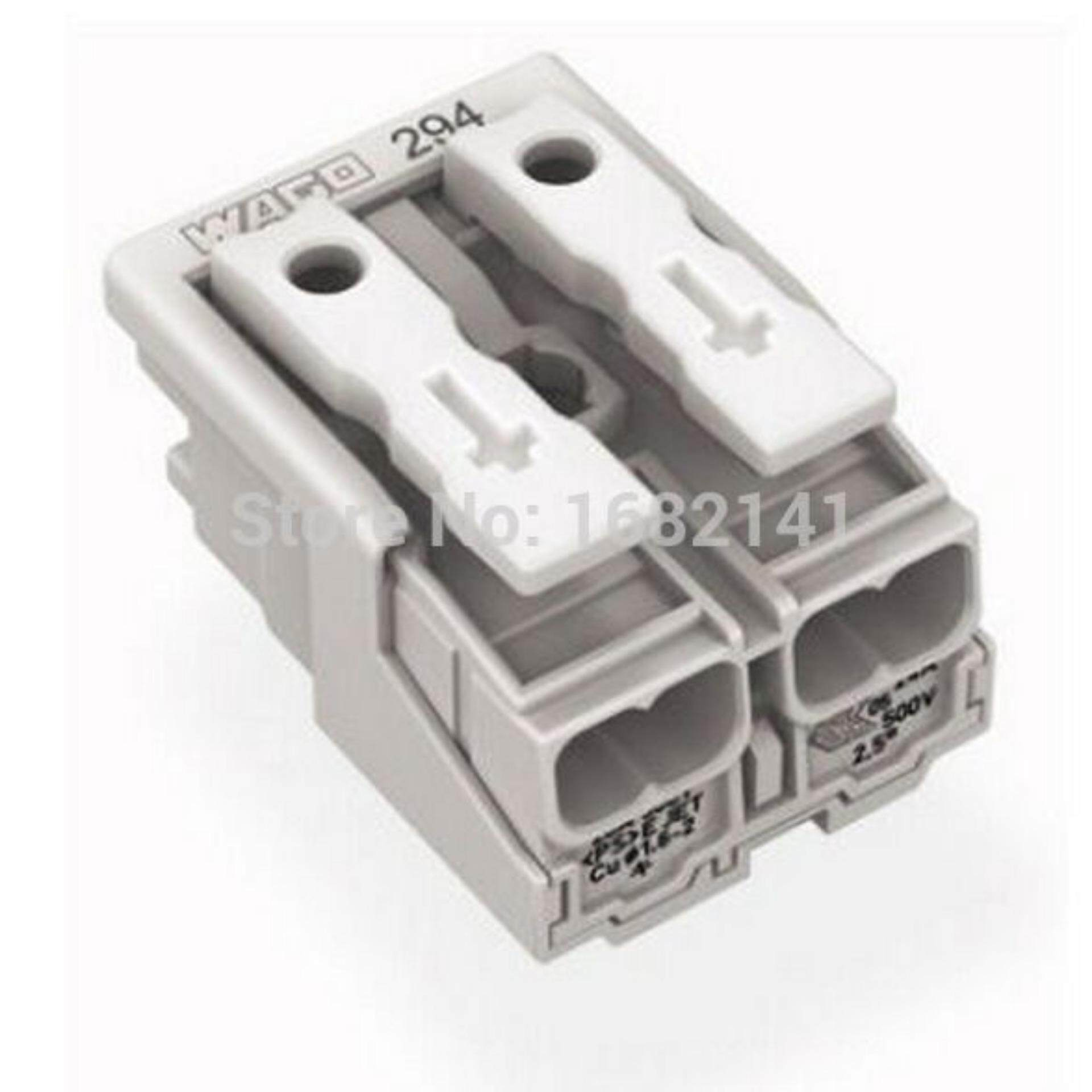 Sell Wago 221 Cheapest Best Quality My Store Connector 2 Wire 222 412 Compact Terminal Block Lever Cage Clamp Myr 18