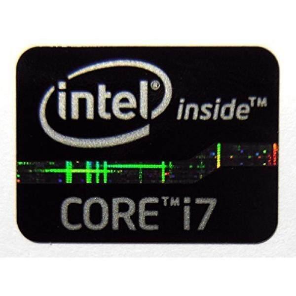 Asli Intel Inti I7 Di Dalam Stiker Hitam Edition 15.5X21 Mm [620]-Internasional