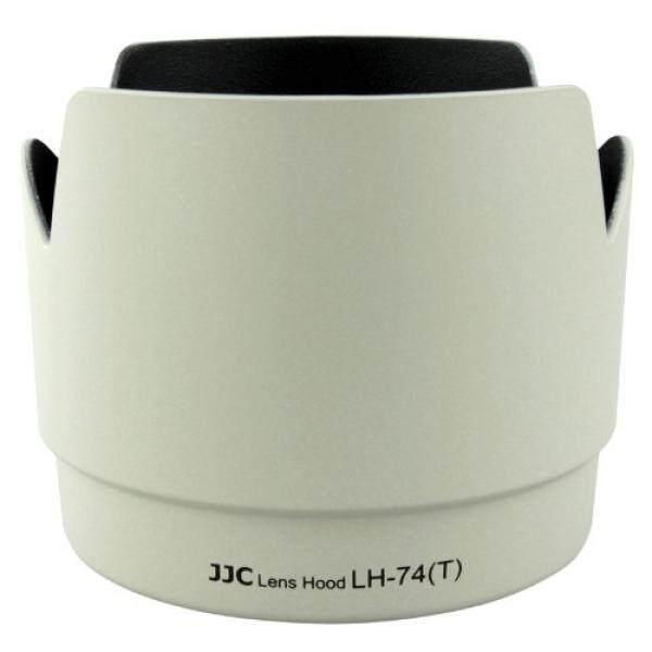 JJC Profesional LH74T Putih Tulip Bunga Lensa Tudung untuk Canon 70-200 Mm F 4 Lensa Menggantikan Canon ET-74 ET74-Internasional
