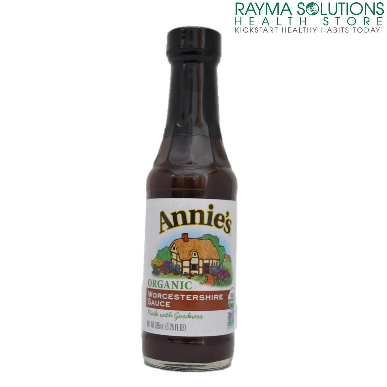 ANNIE'S Organic Worcestershire Sauce 185ml