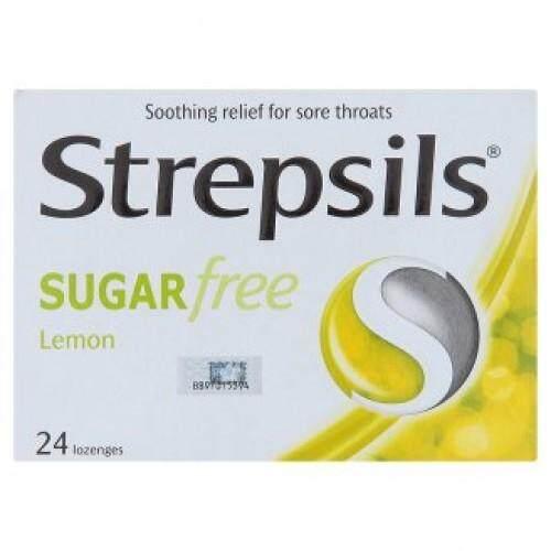 Strepsils Sugar Free Lemon Blister 24s