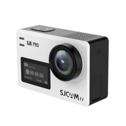 Original SJCAM SJ8 Pro 4K 60fps Two-screen Touch WiFi Sport Video Camera (WHITE)