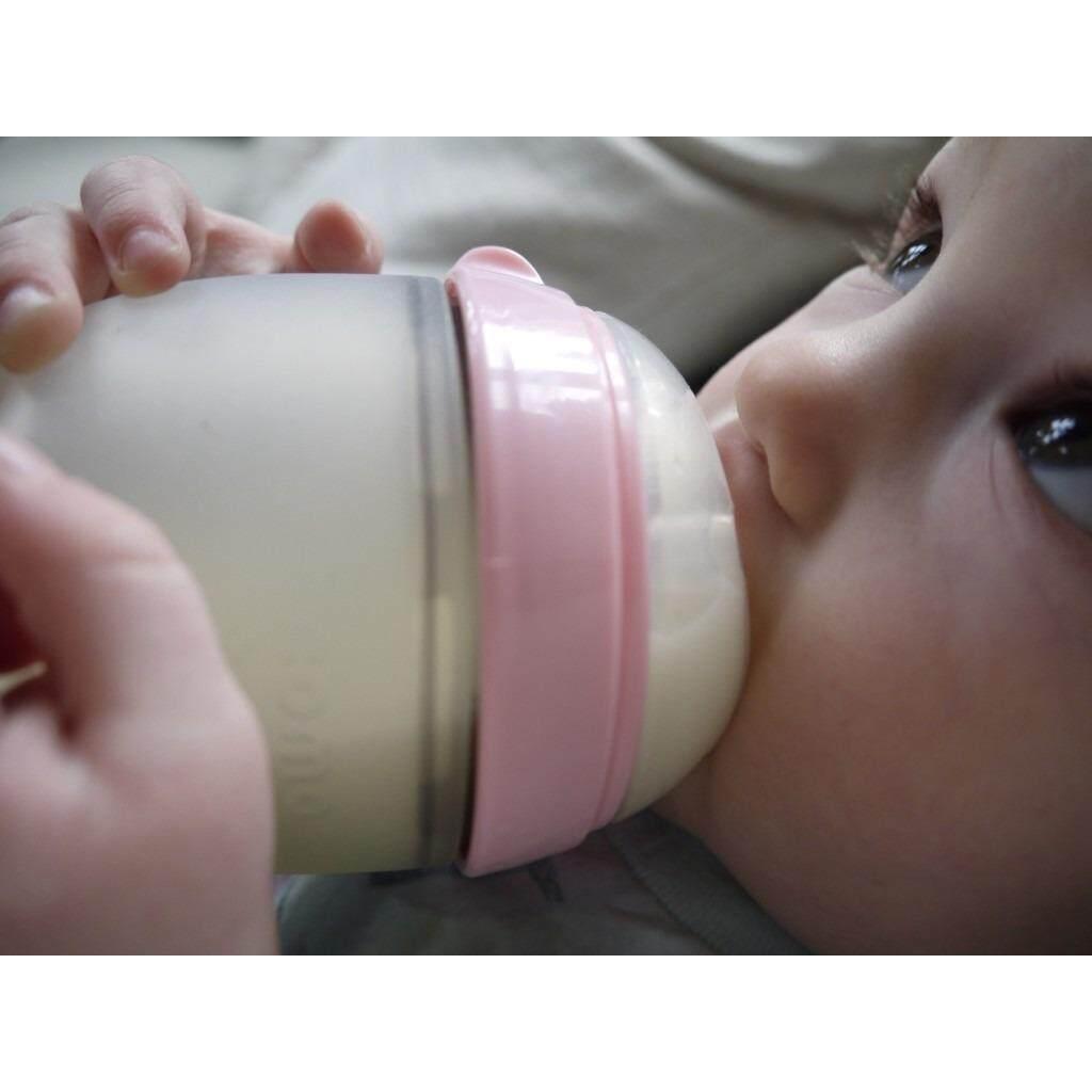 Features Comotomo Silicone Bottle 5oz 150ml Green Pink Dan Harga 150 Ml Single Pack 3