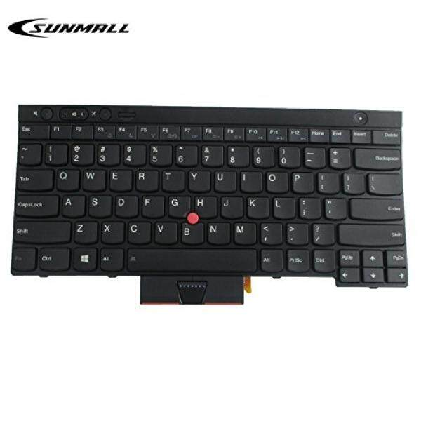 SUNMALL New Laptop Keyboard replacement with Backlight Backlit Pointer for Lenovo IBM ThinkPad X230 X230I X230T X230I T430 T430S T430I L430 T530 T530I W530 L530 US Layout Black (6 Months Warranty) - intl