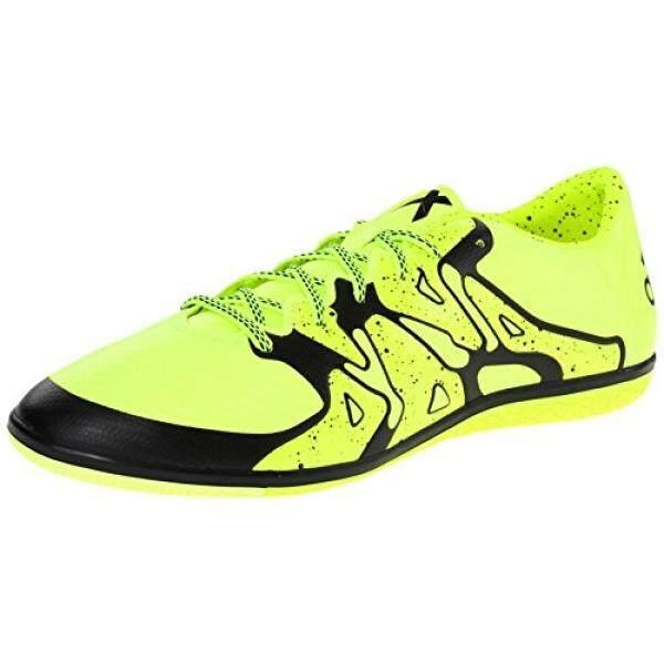 adidas Performance Mens X 15.3 IN Soccer Shoe, Solar Yellow/Core Black/Frozen Yellow F15, US - intl