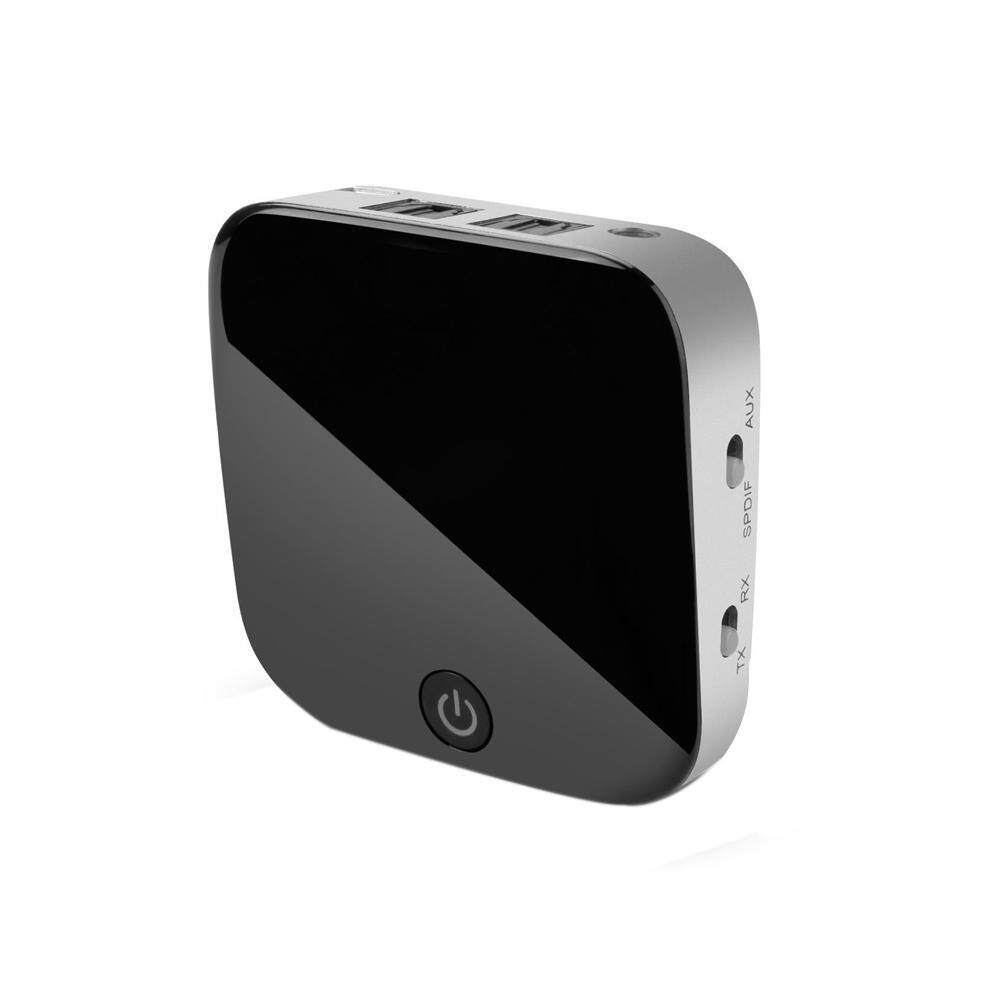 LingTud Optical Bluetooth Transmitter And Receiver, Digital TOSLINK/ SPDIF And 3.5mm AUX Wireless Audio Adapter, For Home Stereo Streaming Audio Dongle/ MP3 Music System/ Headphones/ TV Box/ IPhone