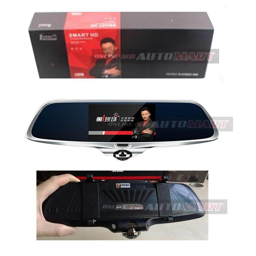 1 First Scene Legend Touch Screen HD 1080P Dual Camera Fisheye Car Dash Cam Recorder G-Sensor(Free 16GB SanDisk Ultra microSDHC)