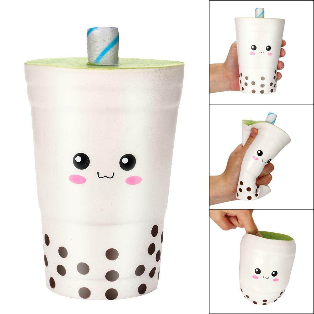 16cm Jumbo Squishy Cute Milk Cups Cream Scented Squishies Slow Rising Charm Toy Greatsell - Intl By Greatsell.