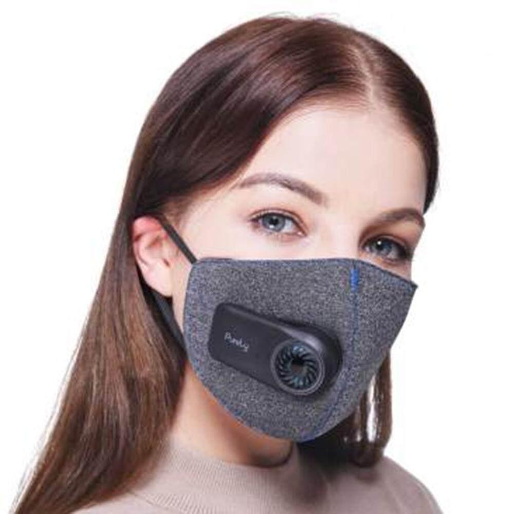 Xiaomi Murni Anti Polusi Udara Olahraga Masker dengan PM2.5 550 MAh Isi Ulang Penyaring Struktur Tiga Dimensi Yang Sangat Baik Purify-Internasional