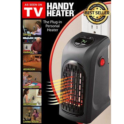 Handy Heater - Handy Wall Air Warmer Electric Heaters Thermostat Home Bathroom Bedroom Camping