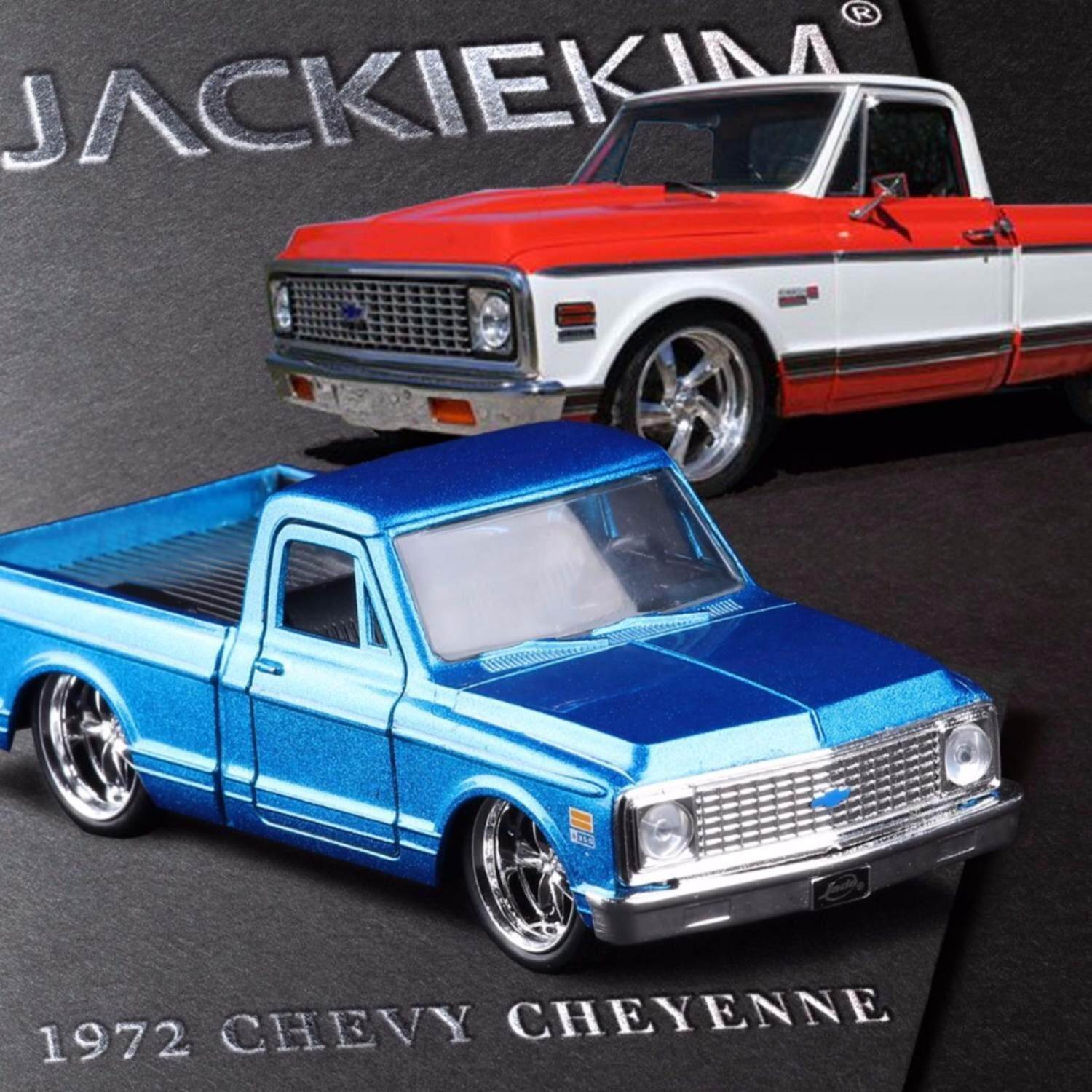 Buy Sell Cheapest Jada Just Truck Best Quality Product Deals 1951 1953 Chevrolet Pickup Xk Gm 132 1972 Chevy Cheyenne Model Diecast Doors Open