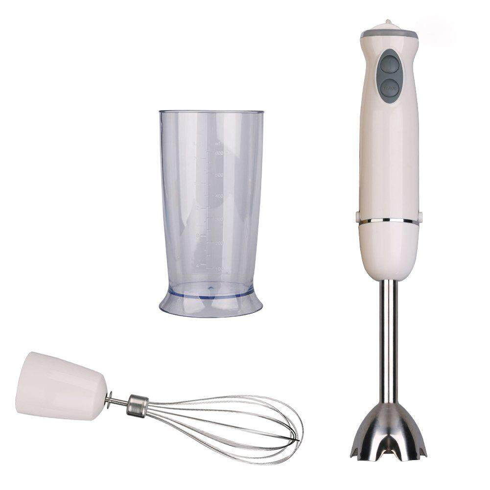LumiParty Multifunctional 700W Stainless Steel 2-speed Handhold Blender Egg Whisk Milk Shake Maker Kitchen Tools