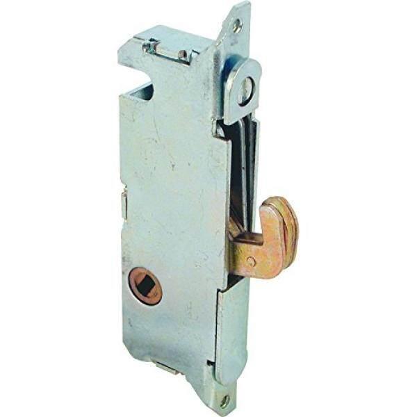 Perdana Baris E Ortise Mengunci-Dapat Disesuaikan, kait Pegas Latch Proyeksi untuk Pintu Teras Geser Dibangun dari Kayu, Aluminium dan Vinil, 3-11/16