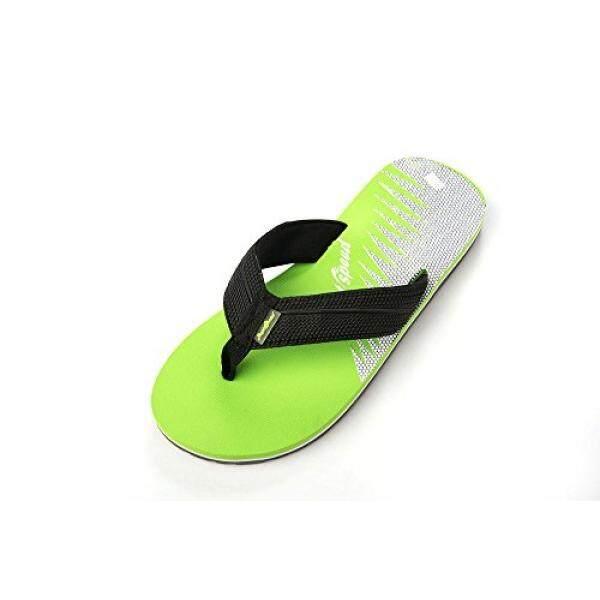 Hanya Kecepatan Hanya Kecepatan Flip-Fliop Sandal Lembut Fleksibel Warna (9 Lime/Hitam)-Intl
