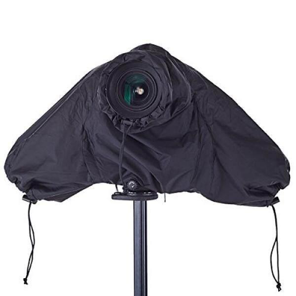 Haoge Tahan Air Pelindung Hujan Pelindung Kamera Yg Tahan Hujan dengan Tertutup Tangan Lengan untuk Canon Nikon Sony Olympus Pentax Panasonic Digital Kamera SLR dan Lensa Hitam -Intl