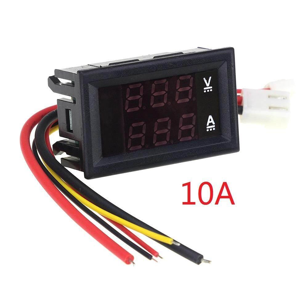 Fitur Mini Voltmeter Dc 4 100v Dan Harga Terbaru Info Cr7 Green Dc0 10a 50a 100a Led Dual Display Digital Current