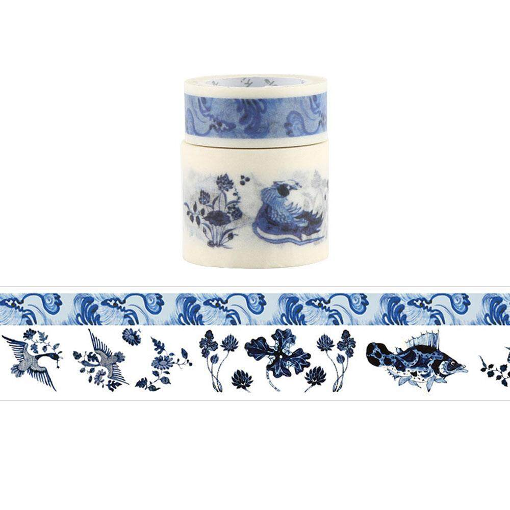 Hình ảnh Womdee Washi Masking Tape Set,Decorative Craft Tape Collection For DIY And Gift Wrapping With Colorful Designs And Patterns - intl