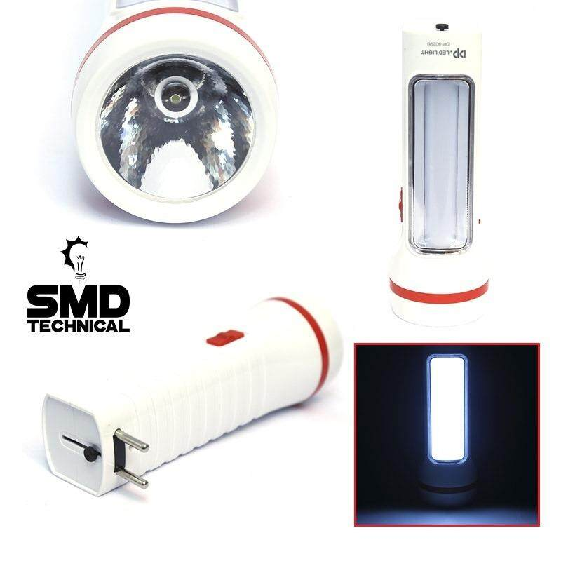 [RECHARGEABLE] SMD LED TORCH LIGHT - SUPER BRIGHT - 3 .