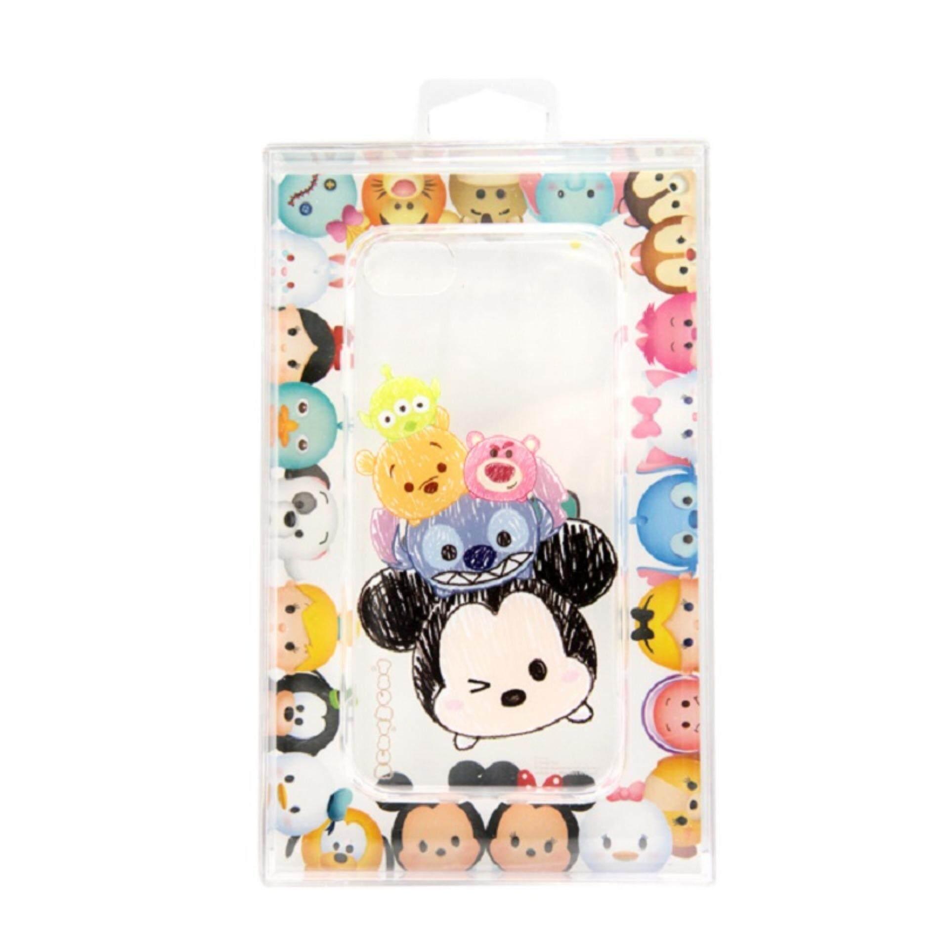 Disney Tsum Tsum Transparent iPhone 7 Case - Mickey & Friends