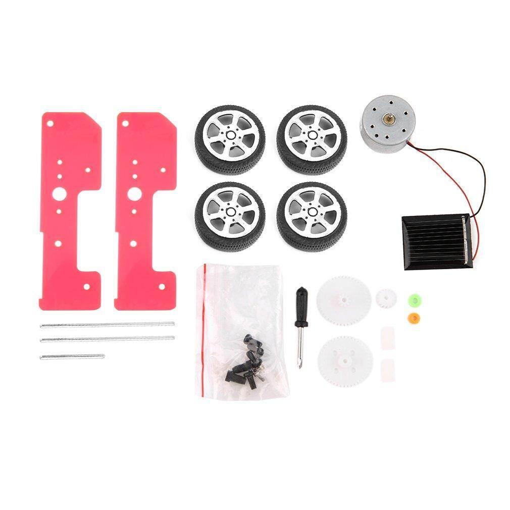 Hình ảnh GOOD Mini Funny Solar Powered Toy DIY Car Kit Children Educational Gadget Hobby - intl