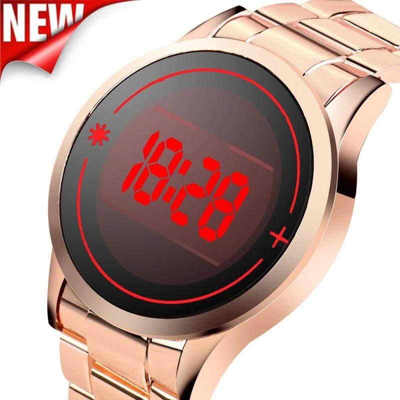 Waterproof Mens Stainless Steel Date Digital LED Bracelet Sport Watches Malaysia