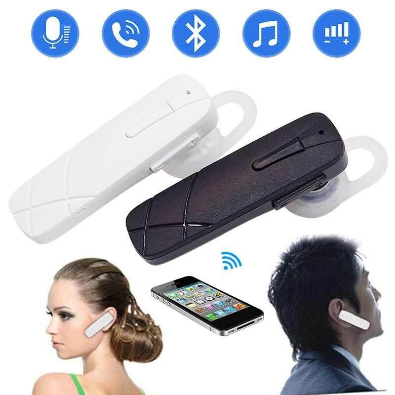 Lagobuy 2018 Multi-function P16 Bluetooth Stereo Earphone Bluetooth Headphone Earhook Headset untuk IOS Android