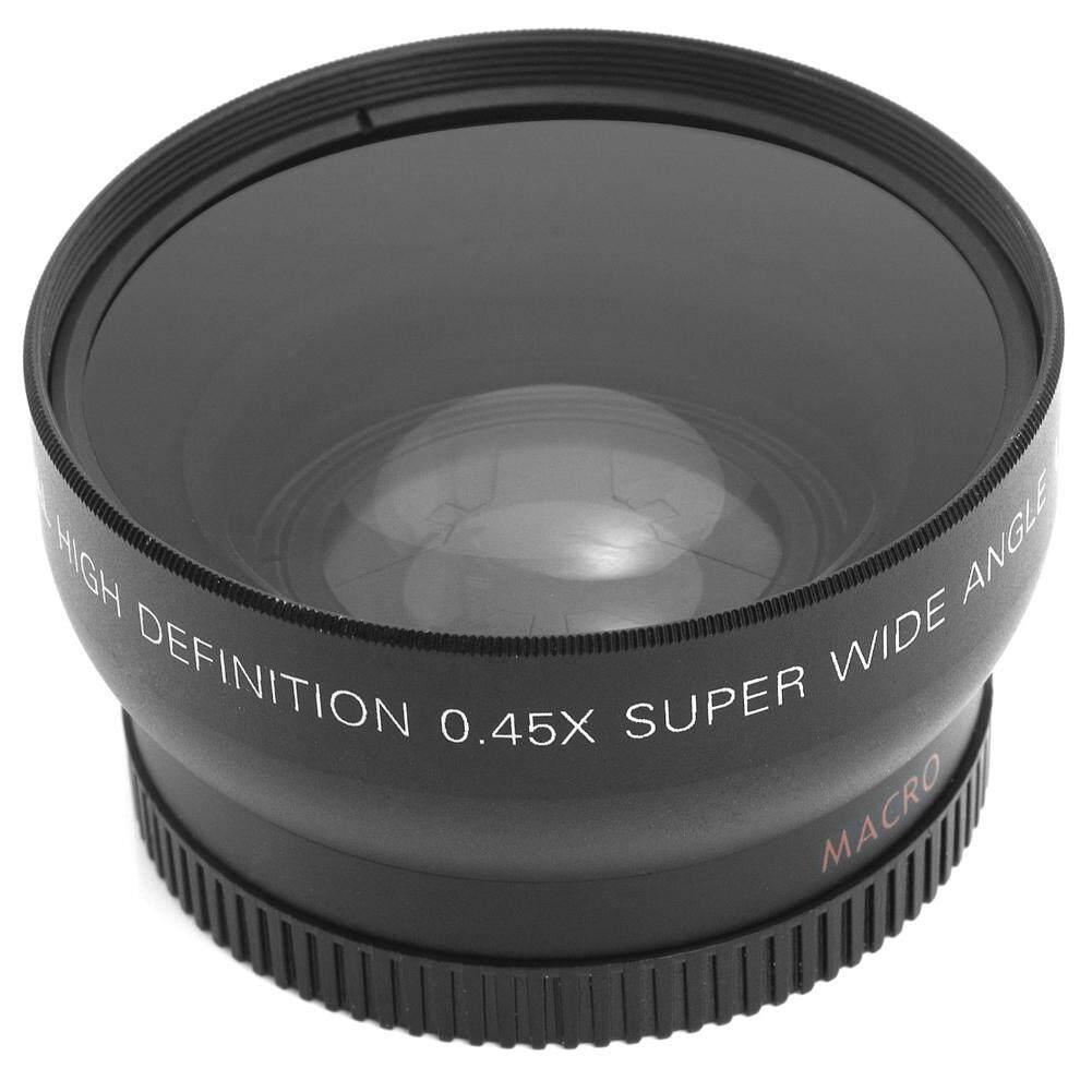 0.45X52 Mm Super Makro Sudut Lebar Lensa untuk Nikon 18-55 Mm 55-200 Mm 50 Mm