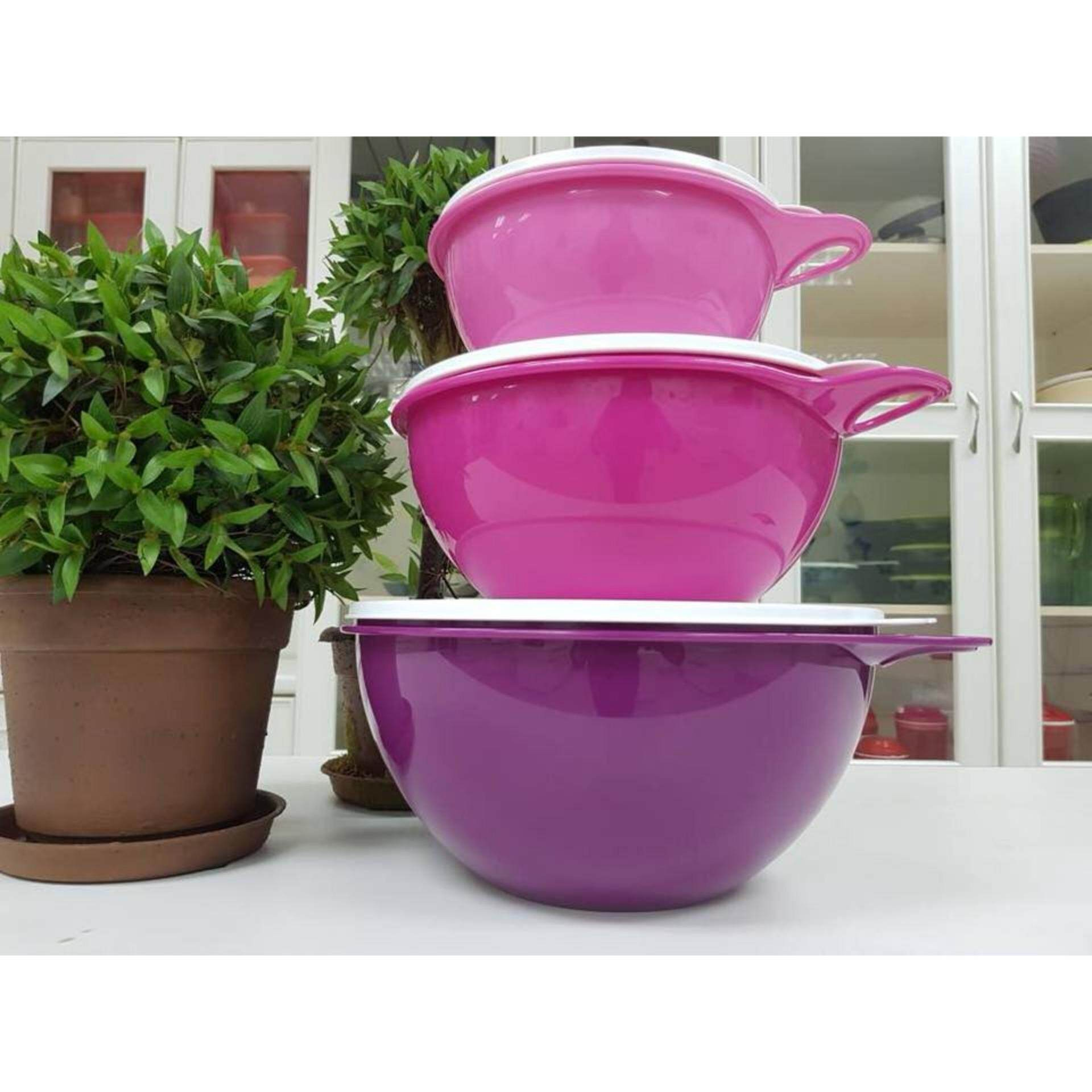 Kios Tupperware Wonderlier Bowl Set 8pc Dan Info Price Terbaru Sweet Blossom Thats A 1l 3l