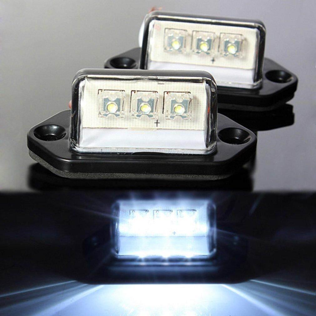 Ge LED Belakang Dilapisi Nomor Lampu Truk Boat Caravan Trailer 12/24 V- Internasional