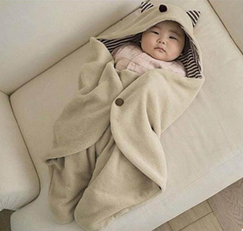 Panda Online Lembut Baru Lahir Bayi Swaddle Bungkus Selimut Bayi Tidur Sack