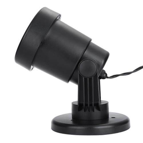 AC 110 - 240V 4W LED BUTTERFLY DRAGONFLY LIGHT WATER RESISTANT PROJECTOR LAMP (BLACK)