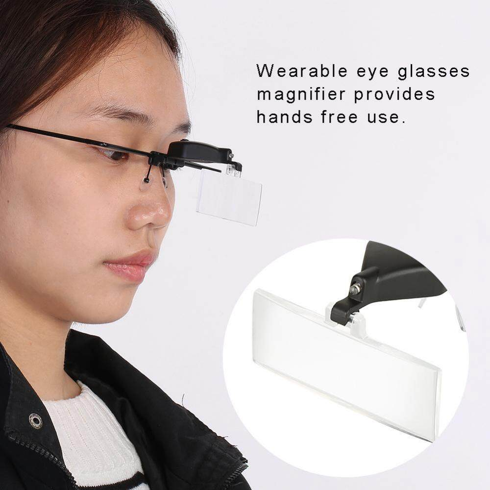 Watch Repair Single Lens Magnifying Magnifier LED Light Loupe 1.5x / 2.5x / 3.5x - intl